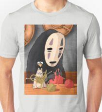 Spirited Away - Boh and No Face Knitting Unisex T-Shirt
