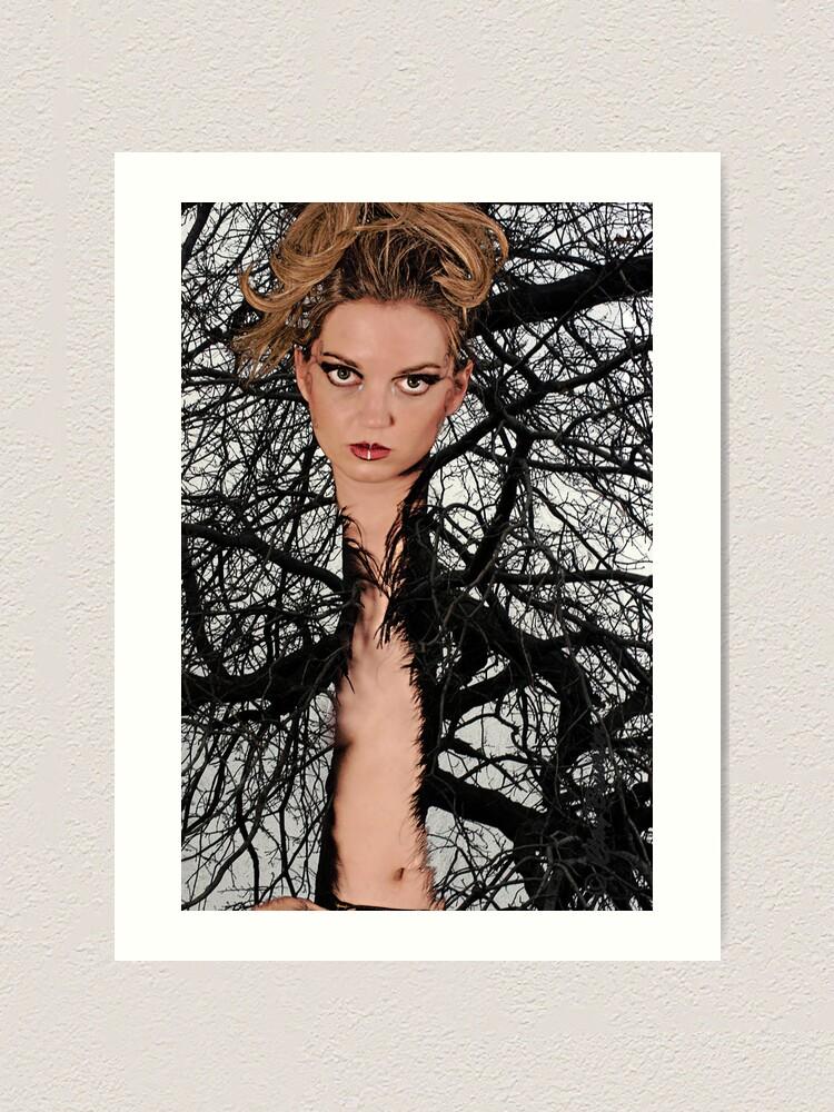 Alternate view of Tree'd Art Print