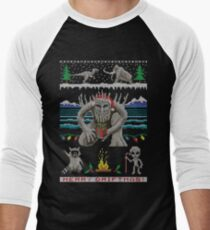 Merry Driftmas Men's Baseball ¾ T-Shirt
