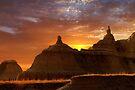 Sunrise over Badlands National Park .3 by Alex Preiss