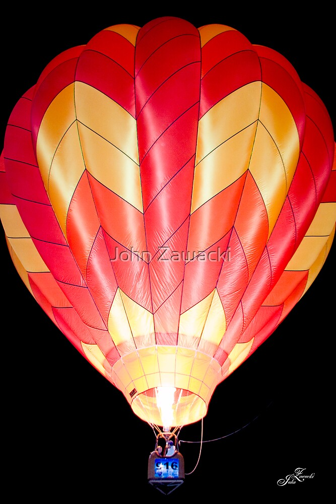 Hot Air Balloon #2286 by John Zawacki