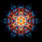 Energy Mandala of Silent Reflection - Sacred Geometry Meditation Focus  by Leah McNeir