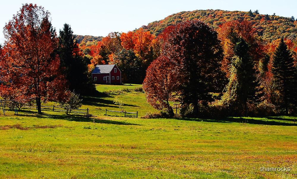 Red Barn by shamrocks