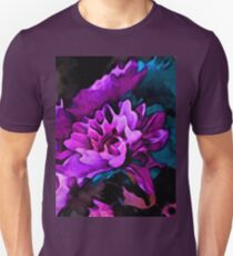 Still Life with Lavender Flowers and Blue Petals T-Shirt
