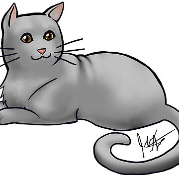 Gray Cat by jameson9101322