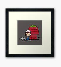 Dustin Brown Framed Print