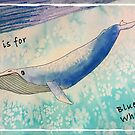 B is for Blue Whale by JenaBenton