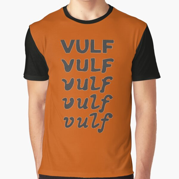 Vulf Grafik T-Shirt