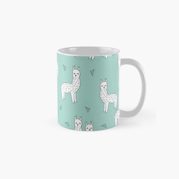 Alpaca - Mint by Andrea Lauren Classic Mug