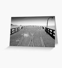Tolaga Bay Wharf, New Zealand Greeting Card