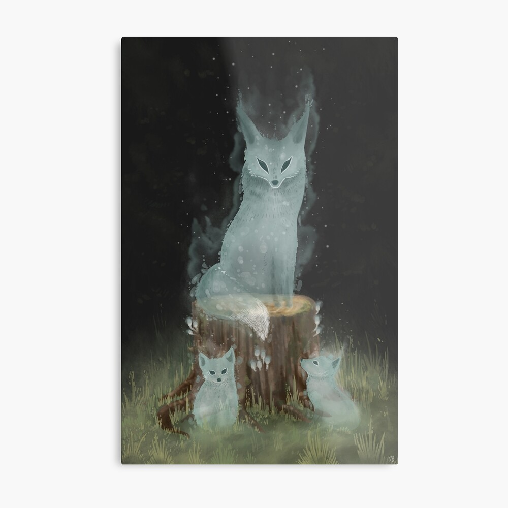 Not Your Forest  Metal Print