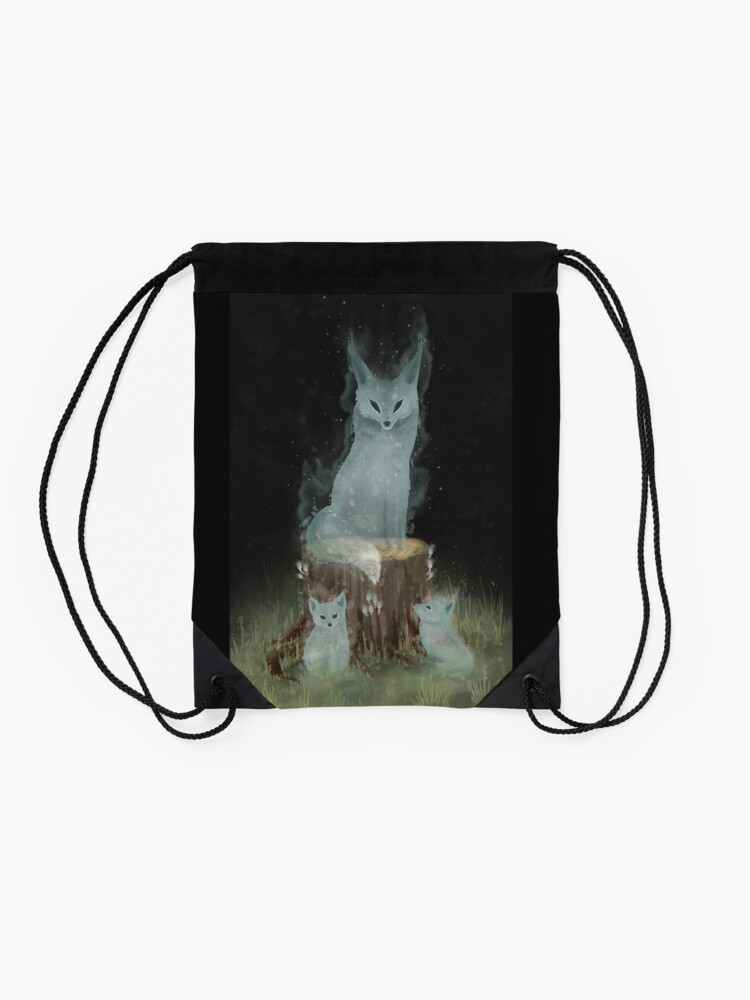 Alternate view of Not Your Forest  Drawstring Bag