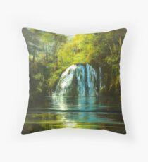 Cherry Creek Falls Throw Pillow