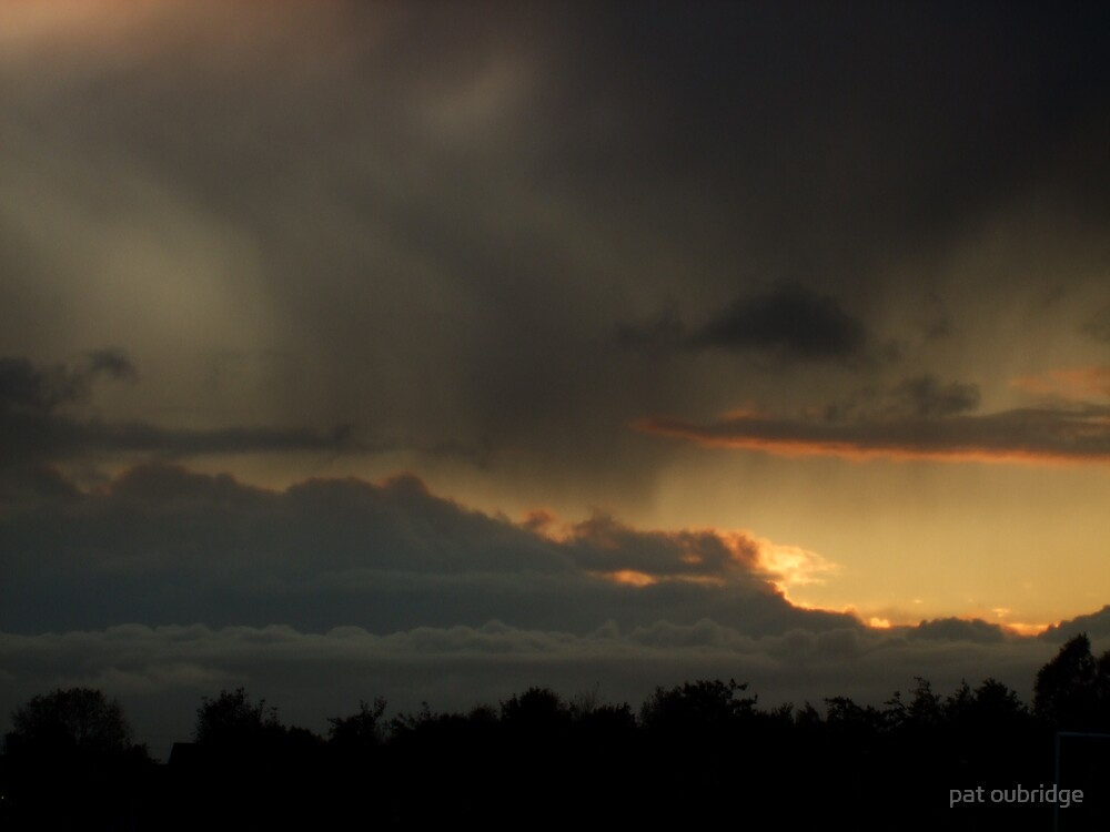 Halloween Sunset by pat oubridge