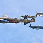 The Battle Of Britain Memorial Flight - RIAT 2017 - 3 by Colin  Williams Photography