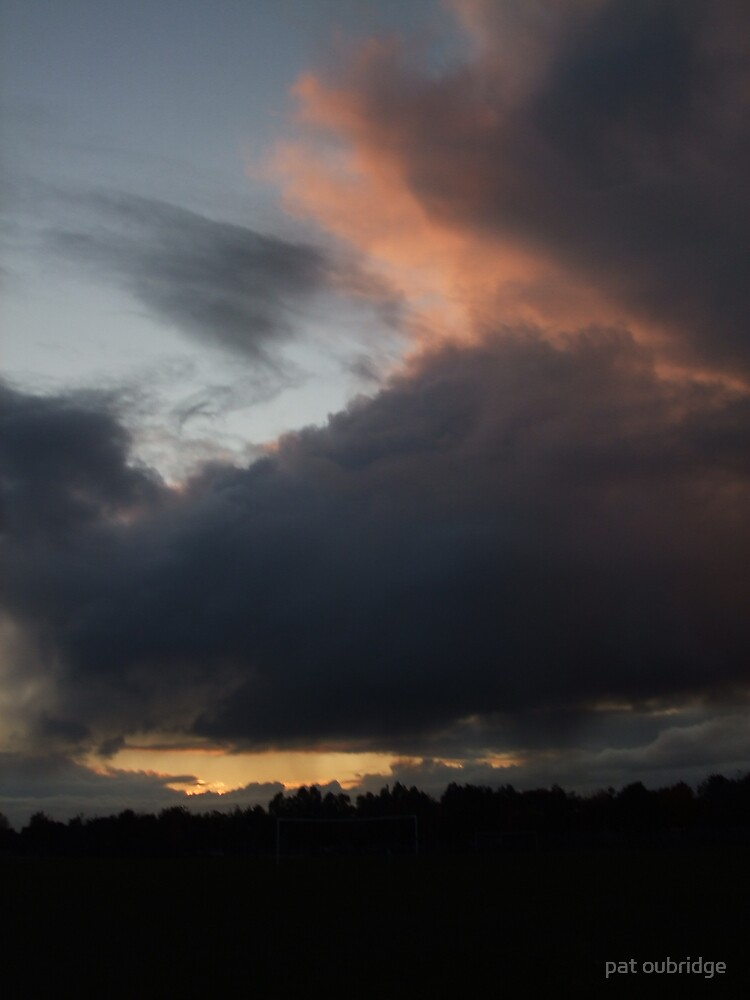 Halloween Sky by pat oubridge