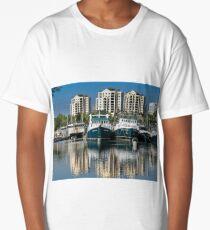 Fishing Boats in Darwin Harbour Long T-Shirt