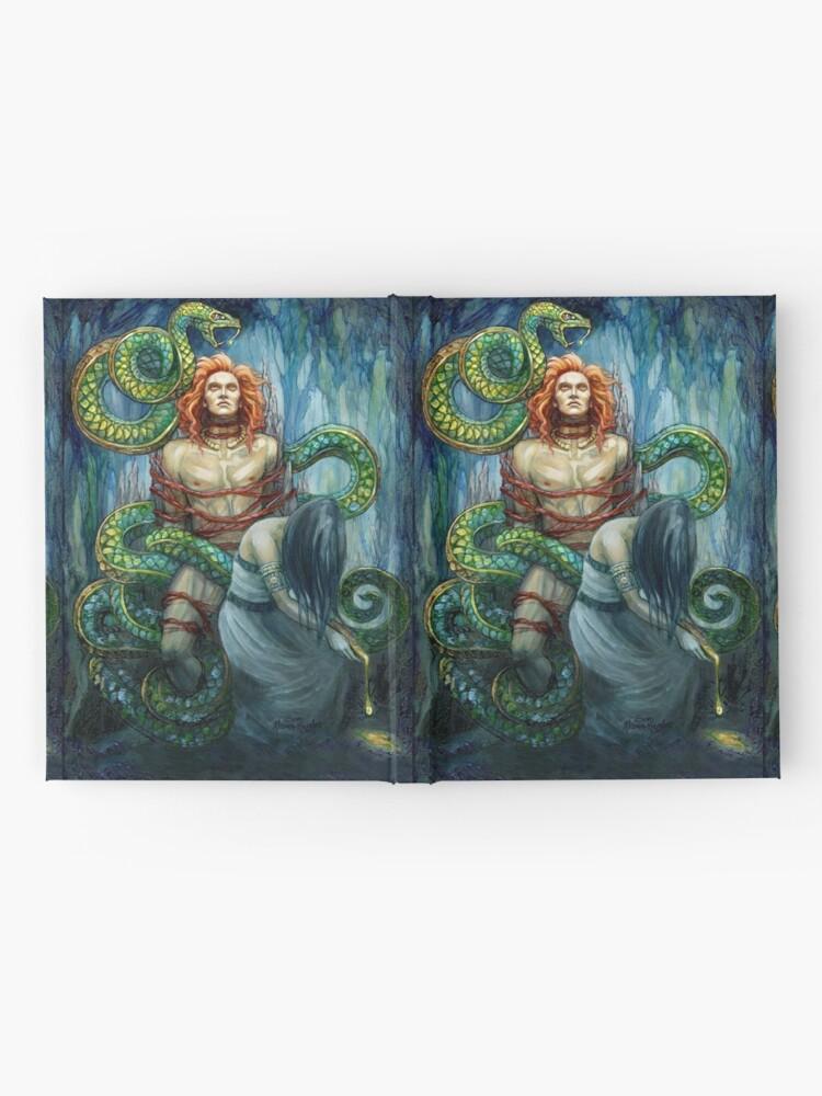Alternate view of The Punishment of Loki Hardcover Journal