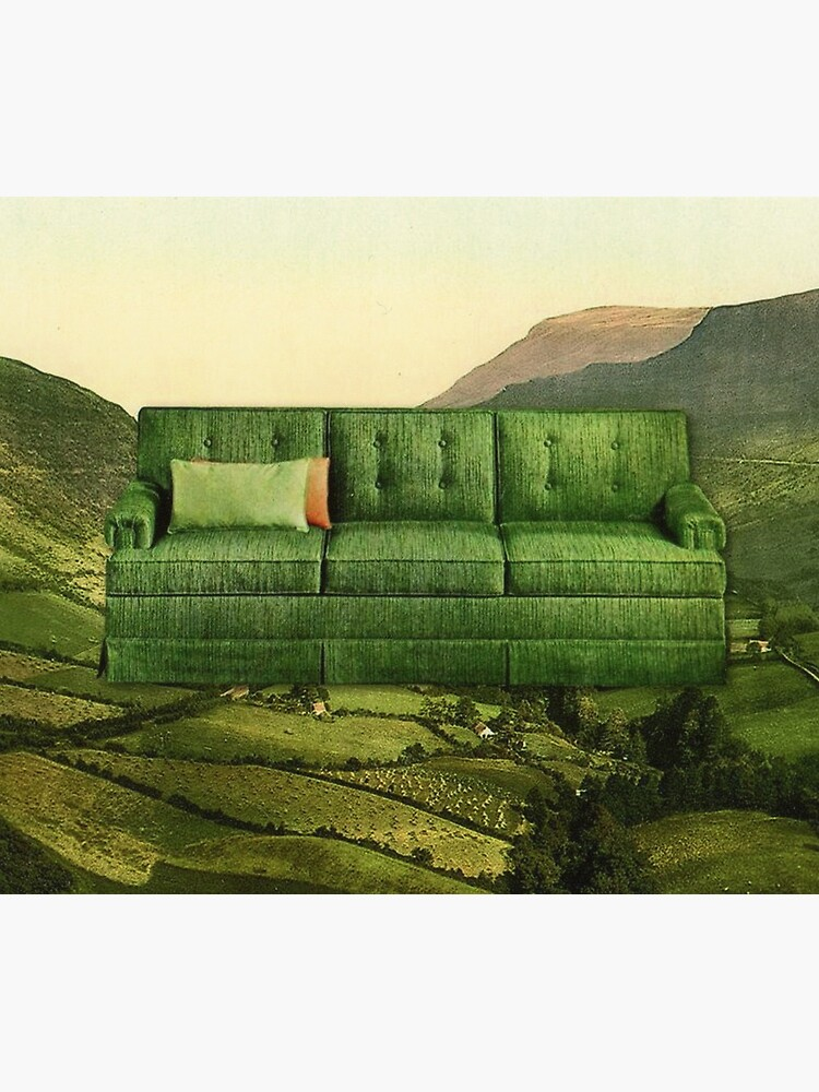 Green Couch by keysgoclick