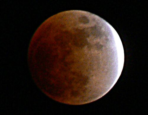 lunar eclipse by BRIAN LEWIS