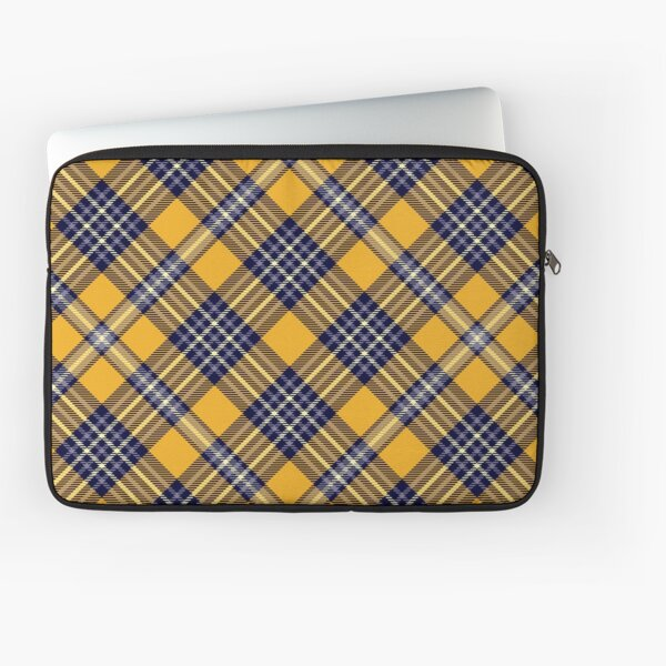 Orange and cornflower Laptop Sleeve