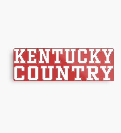Kentucky Country Metal Print