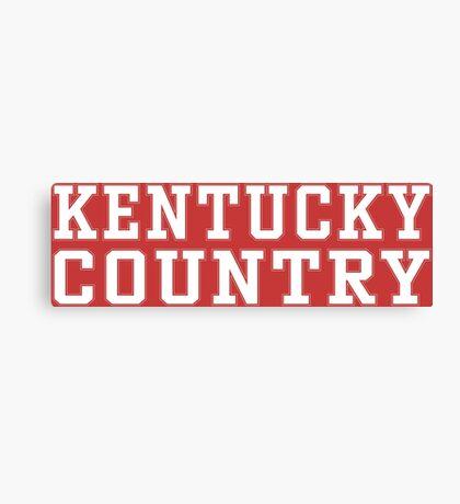 Kentucky Country Canvas Print