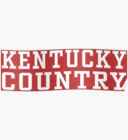Kentucky Country Poster