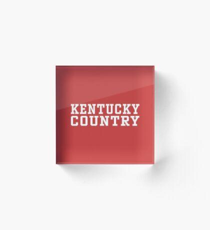 Kentucky Country Acrylic Block