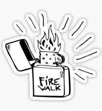 Firewalk Band Logo Sticker