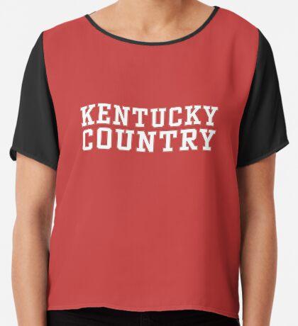 Kentucky Country Chiffon Top