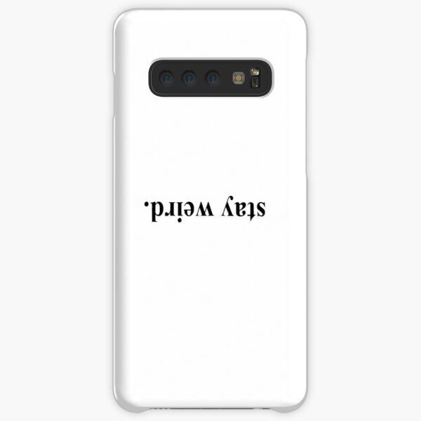 stay weird Samsung Galaxy Snap Case
