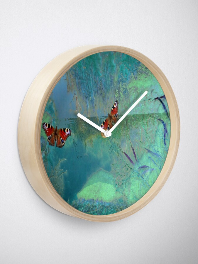 Alternate view of The Pond  Clock