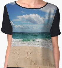 Floreat Beach Women's Chiffon Top