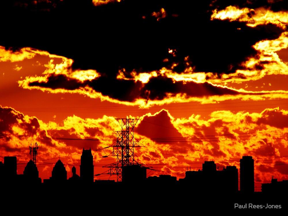Urban Sunset. by Paul Rees-Jones