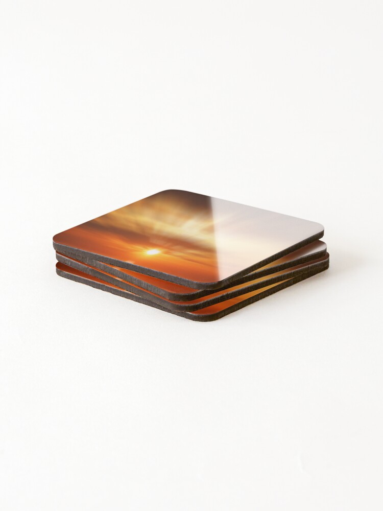 Alternate view of A golden dawn  Coasters (Set of 4)