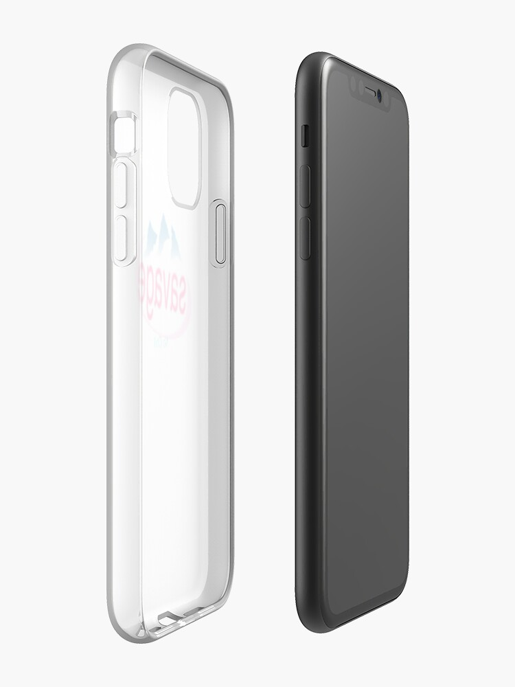 Coque iPhone «Sauvage», par qlmao