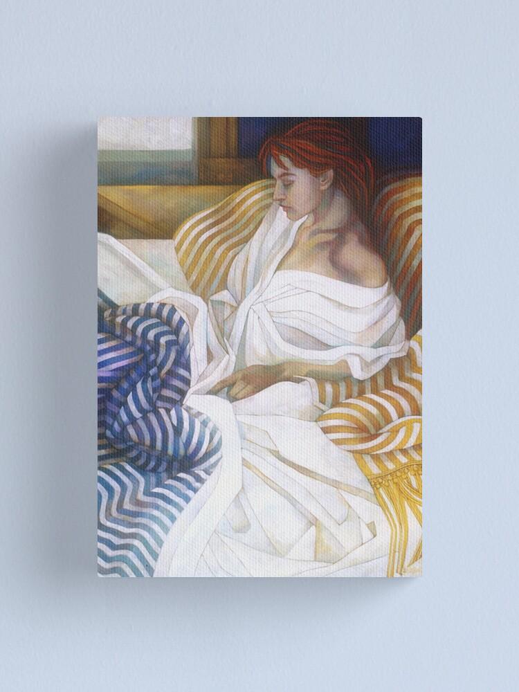 Alternate view of stripes Canvas Print