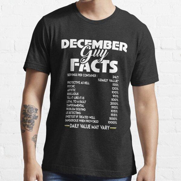 Camiseta Guy Facts de diciembre Camiseta esencial