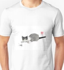 Silly cricket sumi-e painting. T-Shirt