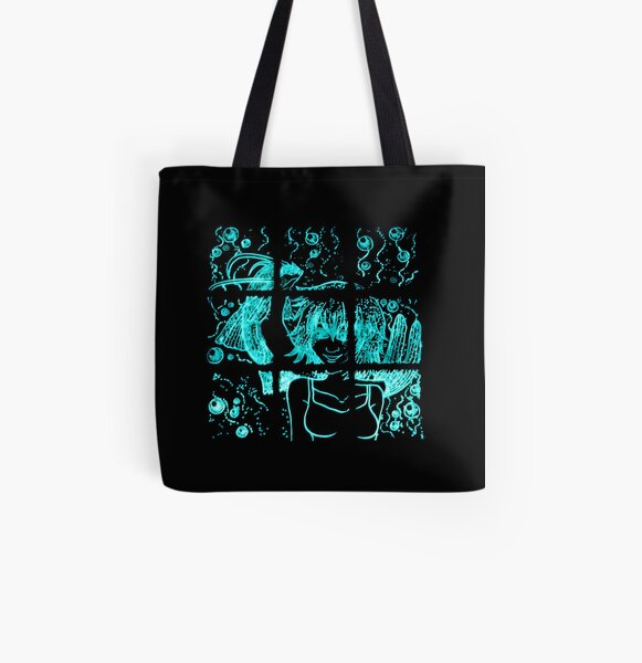 Glowing Bacterial Art - Harmony All Over Print Tote Bag
