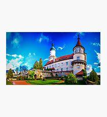 The castle of Nové Město nad Metují Photographic Print