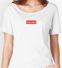 Saturated Women's Relaxed Fit T-Shirt