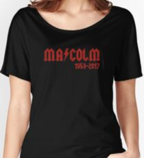 RIP MALCOLM Women's Relaxed Fit T-Shirt