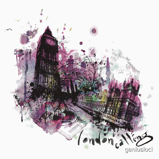 TShirtGifter presents: London Calling