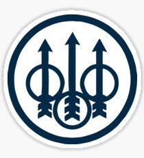 Beretta Gun Logo Sticker