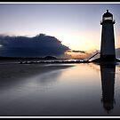 Sunset at Talacre by Shaun Whiteman