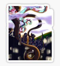 Mecha Octopus Sticker