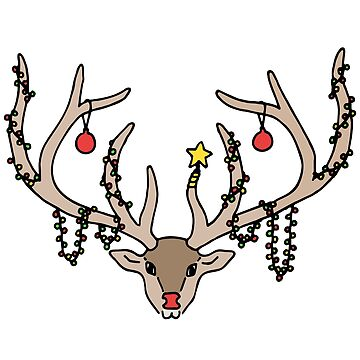 Decorated Rudolph by TPdesigns