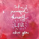 She promised herself love this year by Franchesca Cox